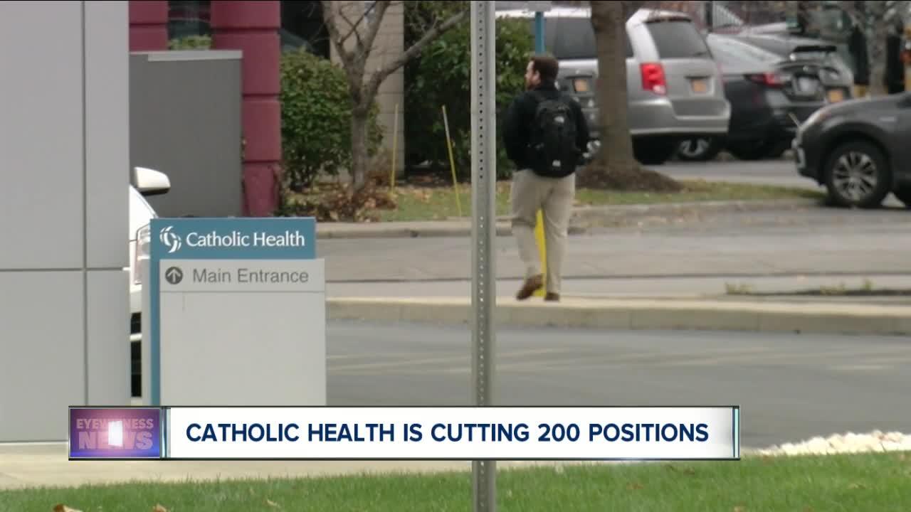 Catholic Health cuts 200 positions