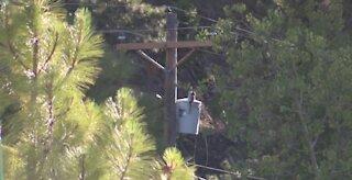 NV Energy monitoring fire risk on Mount Charleston,