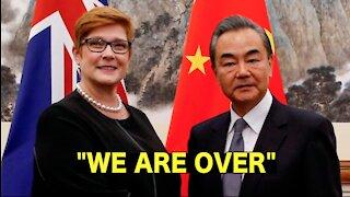 Australia canceled Belt & Road deals with China.