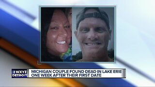 Couple found dead in Lake Erie a week after their first date