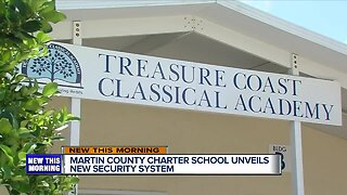 Charter school unveils new security system