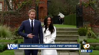 Meghan Markle's dad gives first interview