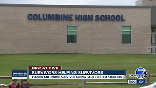 Columbine survivor helping STEM school students with 'calm down boxes'