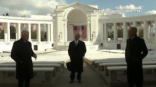 Three former presidents honor Joe Biden as Biden Administration begins