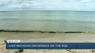 Lake Michigan drownings on the rise
