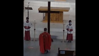 Good Friday Mass St Augustines Church Dundas