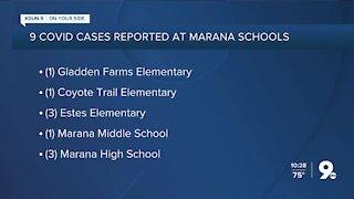 Marana Unified School District identifies 9 COVID cases at 5 schools