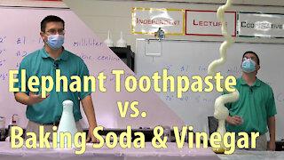 Elephant Toothpaste vs. Baking Soda & Vinegar