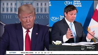Governor DeSantis meets with President Trump