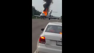 Mexican military shoots down plane allegedly carrying drugs