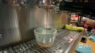 Coffee shop offers full-service during boil water notice