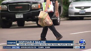 Fee for single-use plastic and paper bags passes first vote in Denver City Council