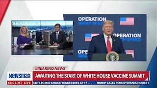 Trump's Speech at Vaccine Summit