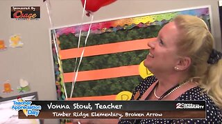 Teacher Appreciation Day Surprise: Vonna Stout, Timber Ridge Elementary