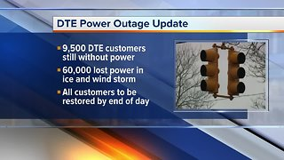 DTE: 10,000 customers remain without power across Southeast Michigan