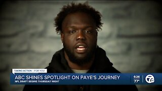 ABC spotlights Kwity Paye's journey ahead of NFL Draft