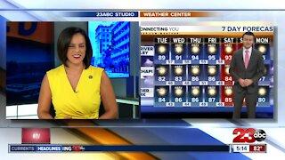 23ABC Evening weather update October 12, 2020