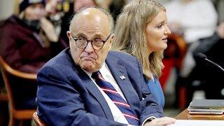 Rudy Giuliani Still Hospitalized For COVID-19