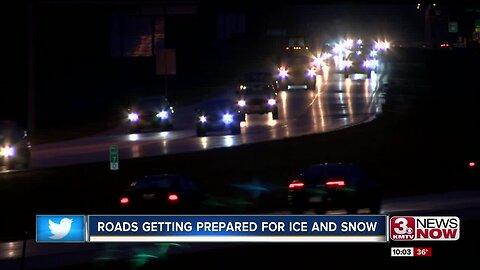 Roads getting prepared for winter conditions