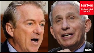 Rand Paul 'DESTROYS' Dr. Fauci Over 'MASKS' during Senate hearing