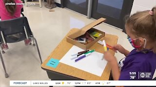 Kits make sure 'Art Never Stops' in Pinellas County Schools