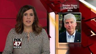 Democrats slam Governor Rick Snyder for signing minimum wage and sick time legislation