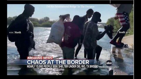 @DonaldJTrumpJr @DonaldJ.Trump MSM Staged Video (Migrants Are Headed The Wrong Way)