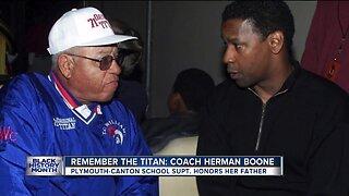 Remember the Titan: Coach Herman Boone