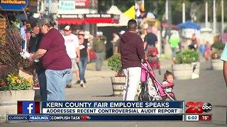 Kern County Fair employee speaks