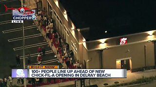 New Chick-fil-A open for business in Delray Beach