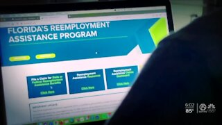 Unemployed workers experience problems accessing state's website