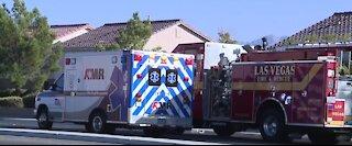 Las Vegas police arrest man after exchanging gunfire on Sunday morning