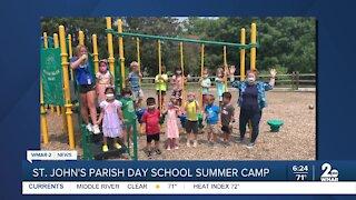 Good Morning Maryland from St. John's Parish Day School Summer Camp