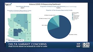 COVID-19 Delta variant on the rise in Arizona