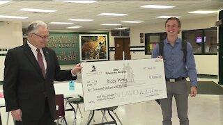1,000th scholarship awarded