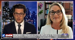 After Hours - OANN Teachers Union Pushback with Rebecca Friedrichs