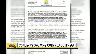 Hillsborough County Schools sends home letter warning about flu outbreak