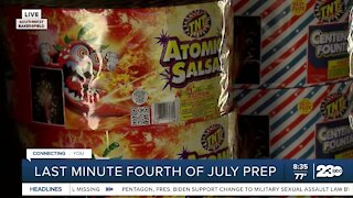 Last minute Fourth of July prep
