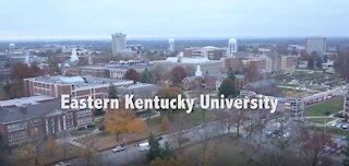 Aerial view of Eastern Kentucky University