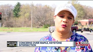 Concerns over Maple, Keystone intersection