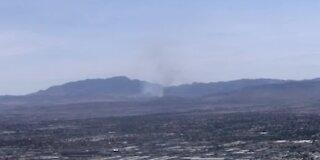 Cottonwood Valley Fire burning between Las Vegas, Pahrump