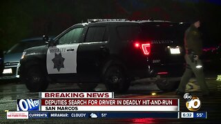 Elderly woman killed in San Marcos hit-and-run