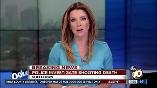 Police investigate shooting death in Shelltown