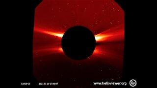 New solar flare January 29th