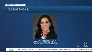 Chicano Federation speaks on high transmission among Latinos