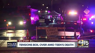 Tensions rise during Tempe City Council meeting after teen shot and killed by officer