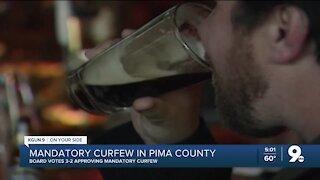 Pima County imposes mandatory curfew