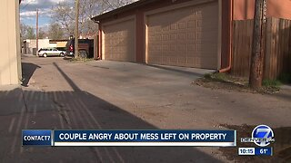 Denver homeowners concerned about human waste from transients