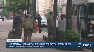 National Guard troops set to leave US Capitol Monday after nearly 5 months