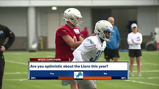 Lions back at training camp